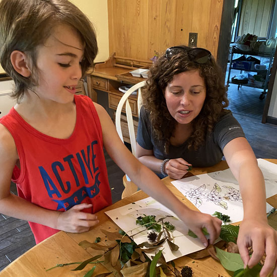 Child Learning at the Gore Nature Center   Donate to Cypress Cove Landkeepers