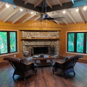 Interior of Dr. Gore's Home : Gore Nature Education Center Gallery | Cypress Cove Landkeepers