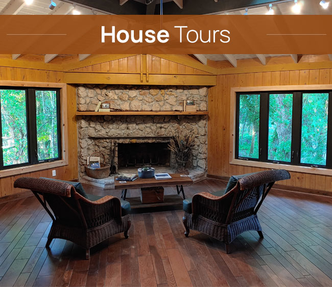 Gore Nature Center Grand Opening Events: House Tours | Cypress Cove Landkeepers