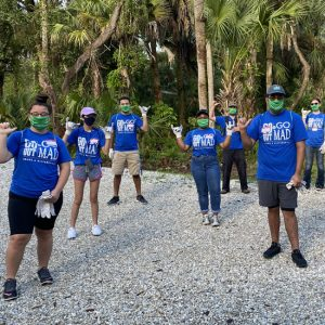 Volunteers Celebrating a Job well done   Cypress Cove Landkeepers